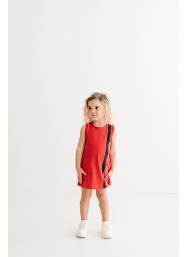 Minnie Mouse Lisanslı Çocuk Elbise 18111 Kırmızı